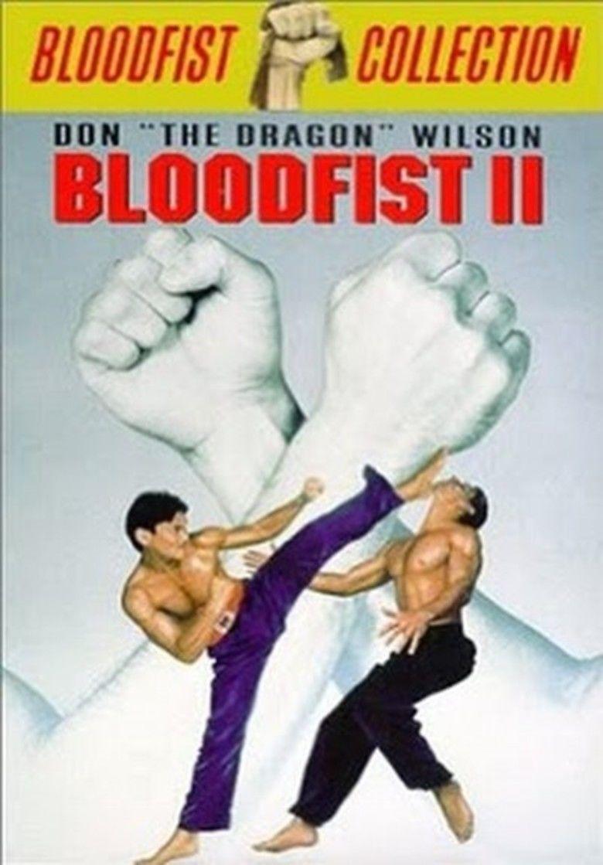 Bloodfist II movie poster