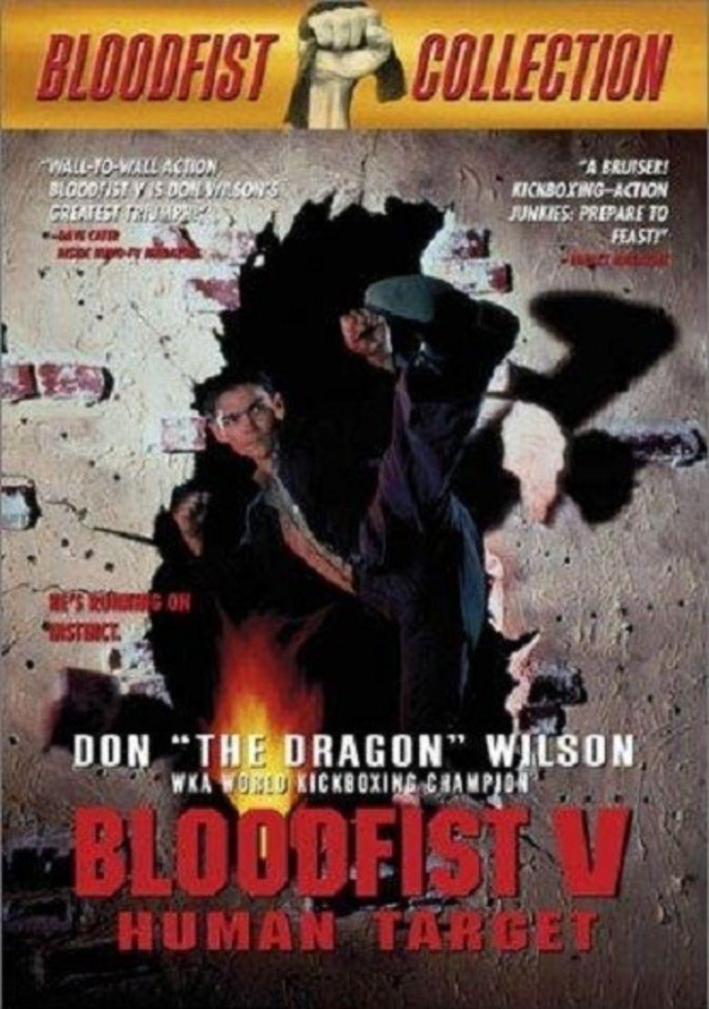 Bloodfist V: Human Target movie poster