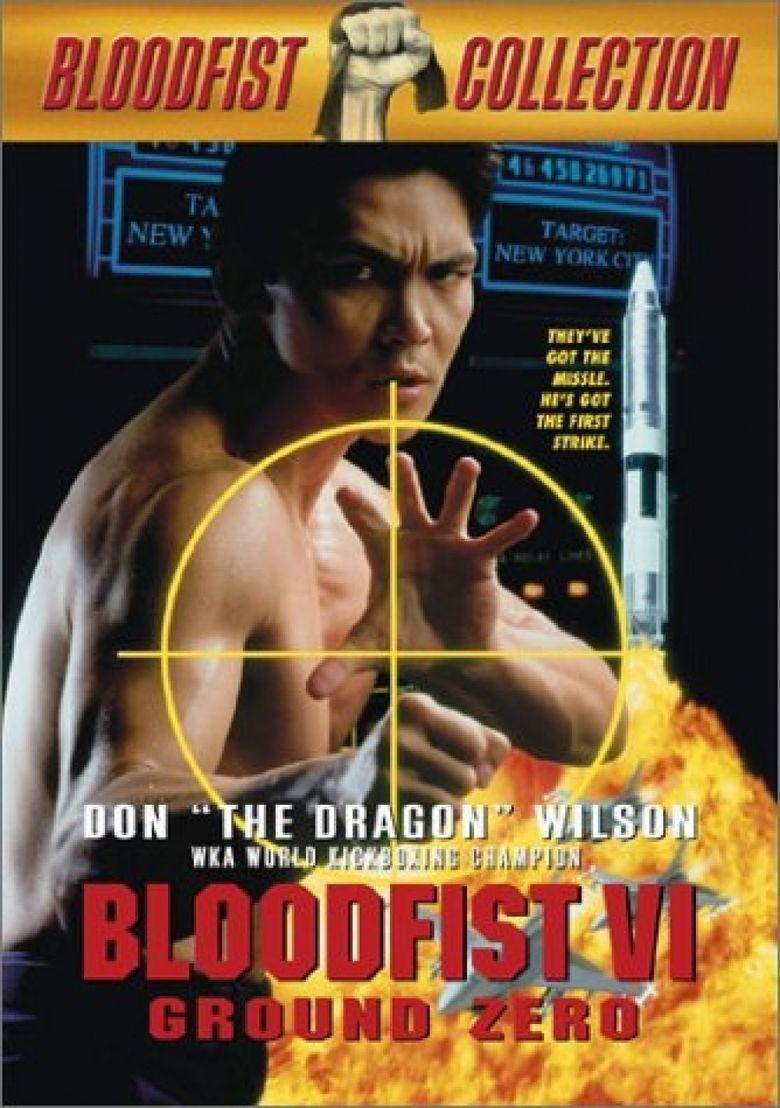 Bloodfist VI: Ground Zero movie poster