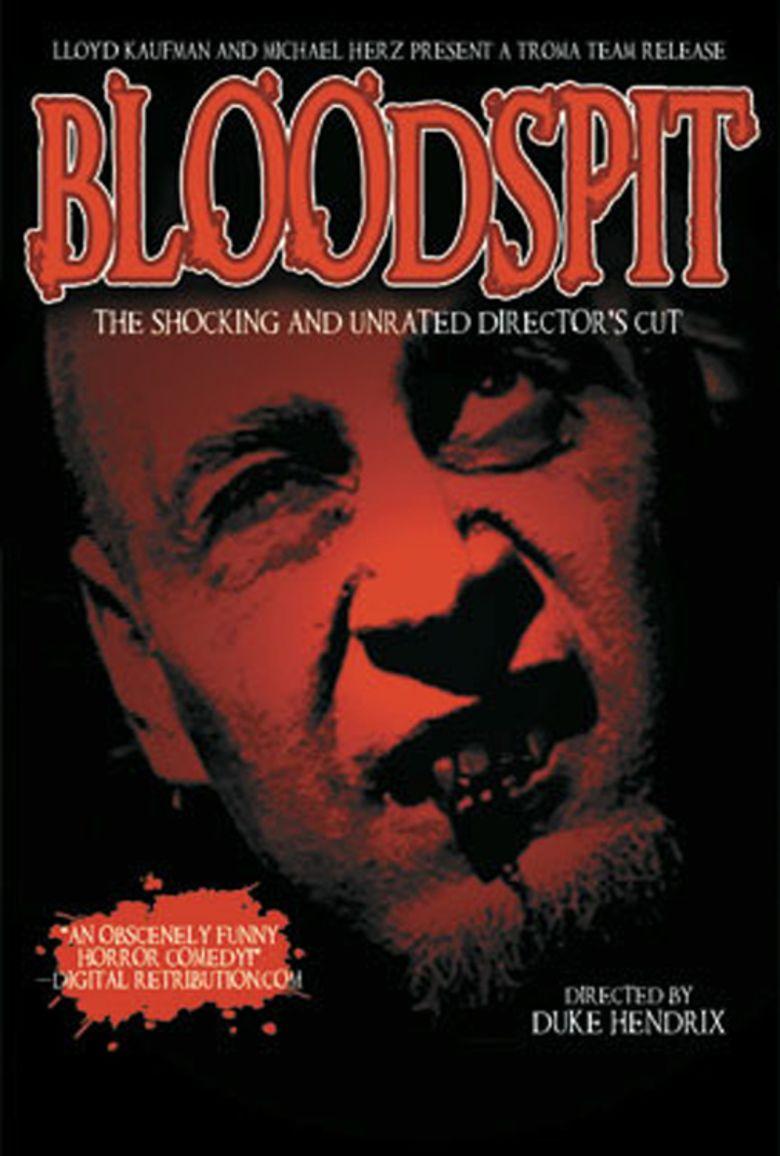 Bloodspit movie poster