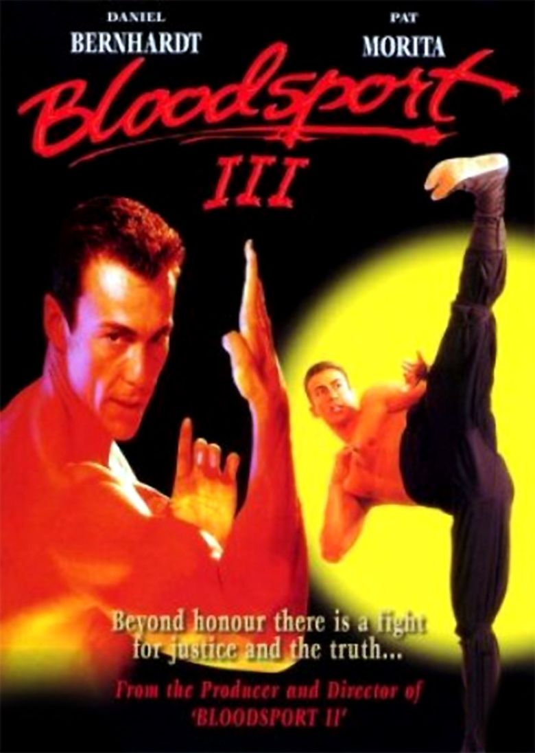 Bloodsport III movie poster