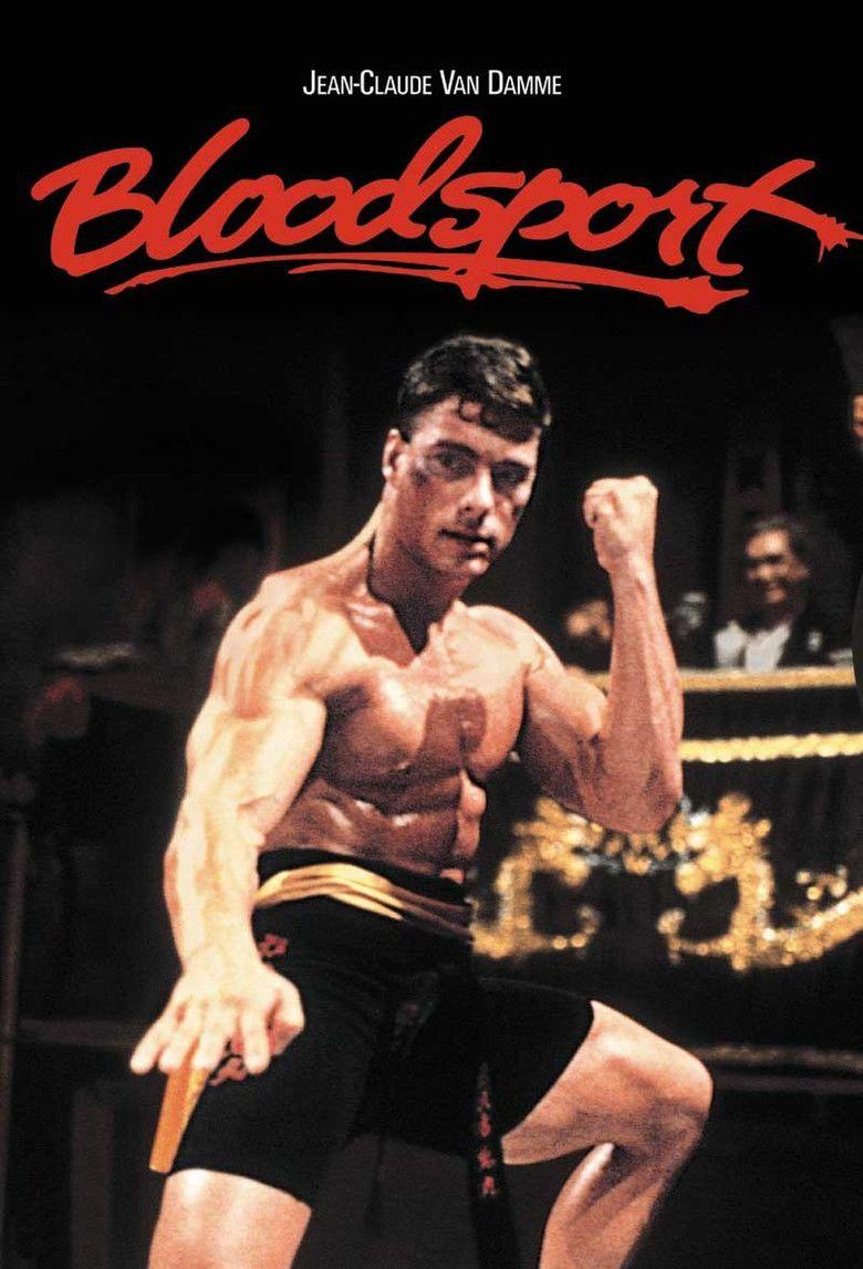 Bloodsport (film) movie poster