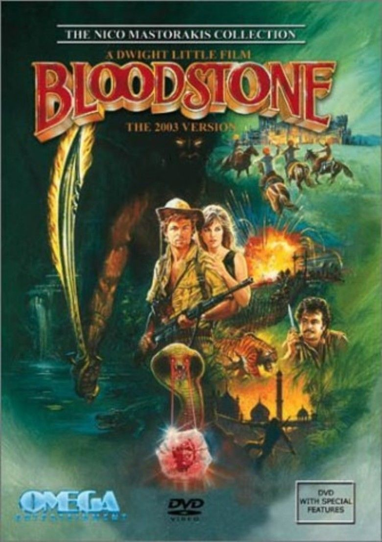 Bloodstone (1988 film) movie poster