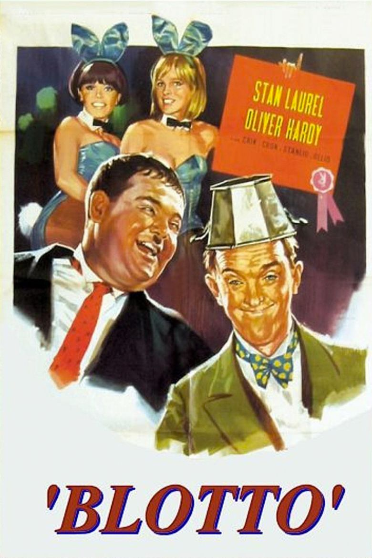 Blotto (film) movie poster