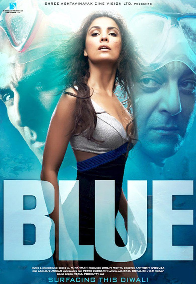 Blue (2009 film) movie poster