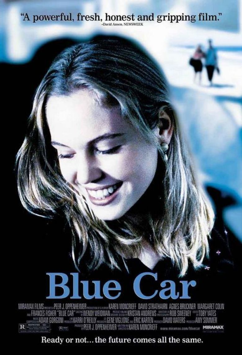 Blue Car movie poster