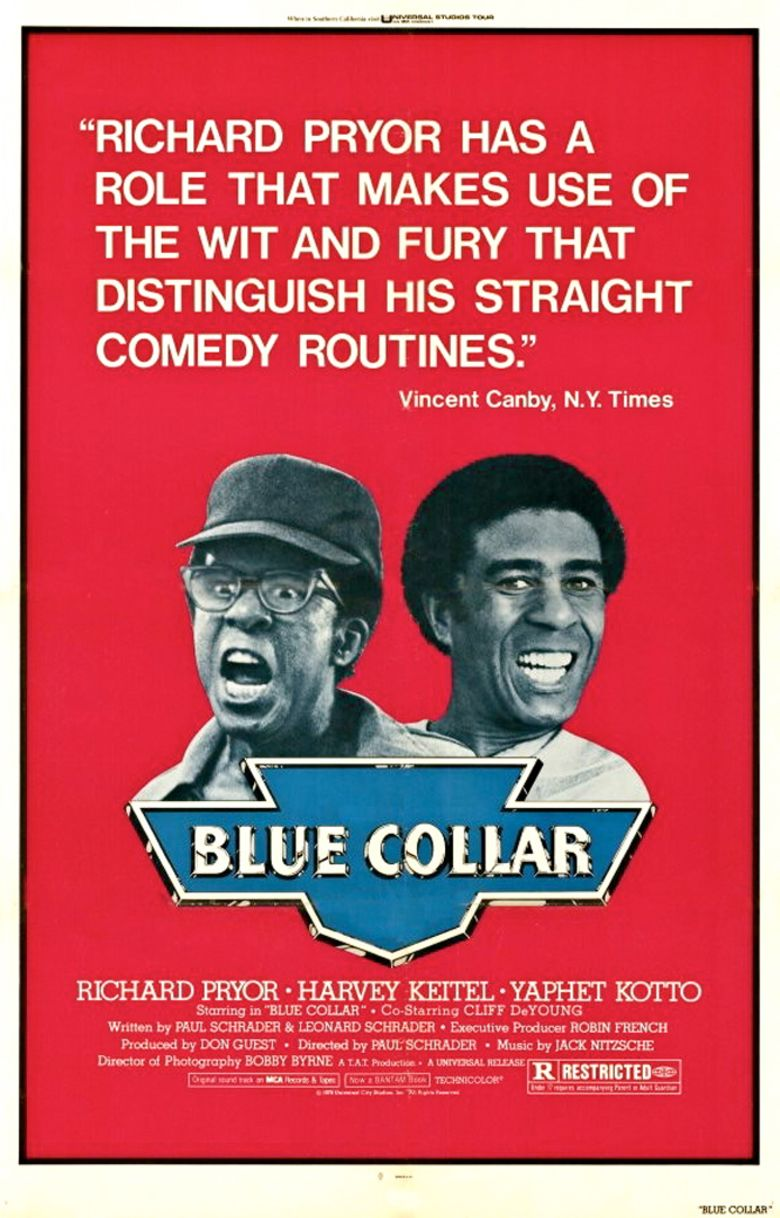 Blue Collar (film) movie poster