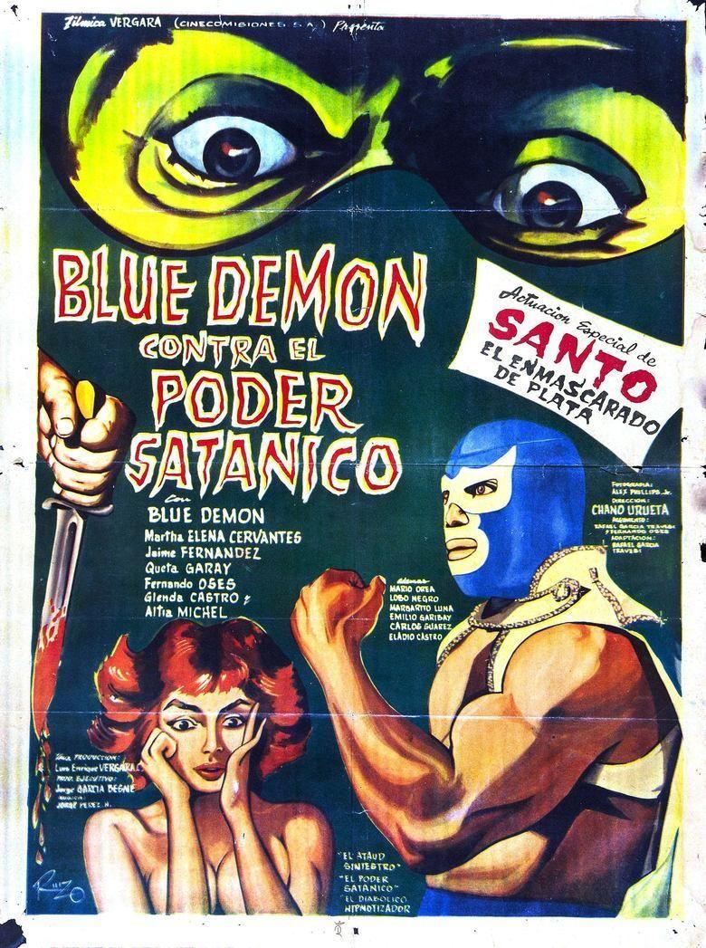 Blue Demon vs the Satanic Power movie poster