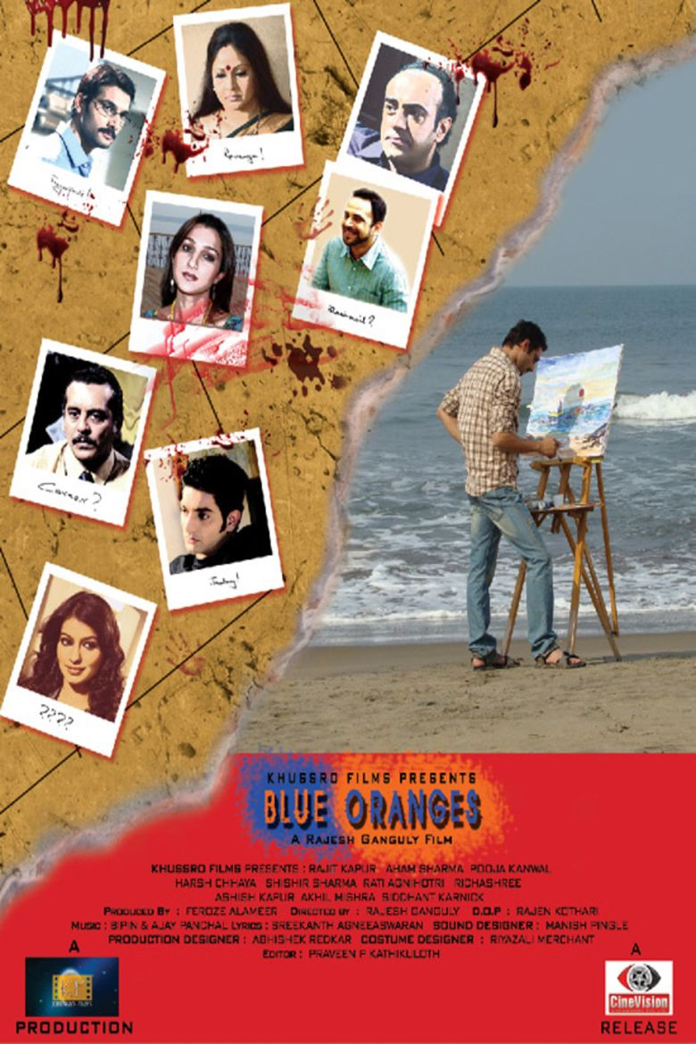 Blue Oranges movie poster
