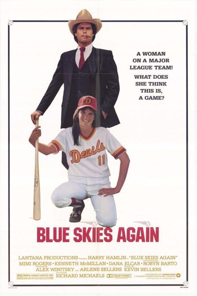 Blue Skies Again (film) movie poster