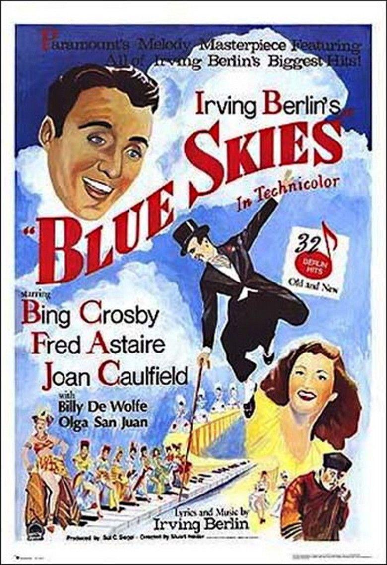 Blue Skies (film) movie poster