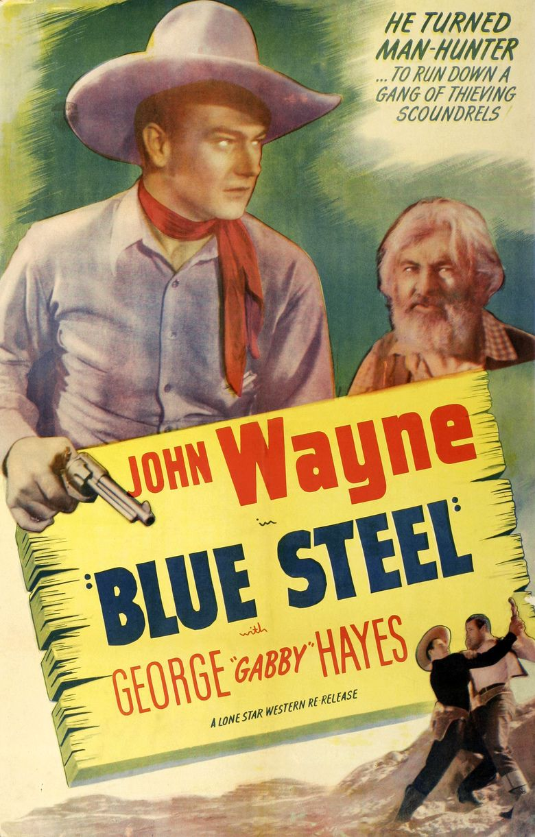 Blue Steel (1934 film) movie poster