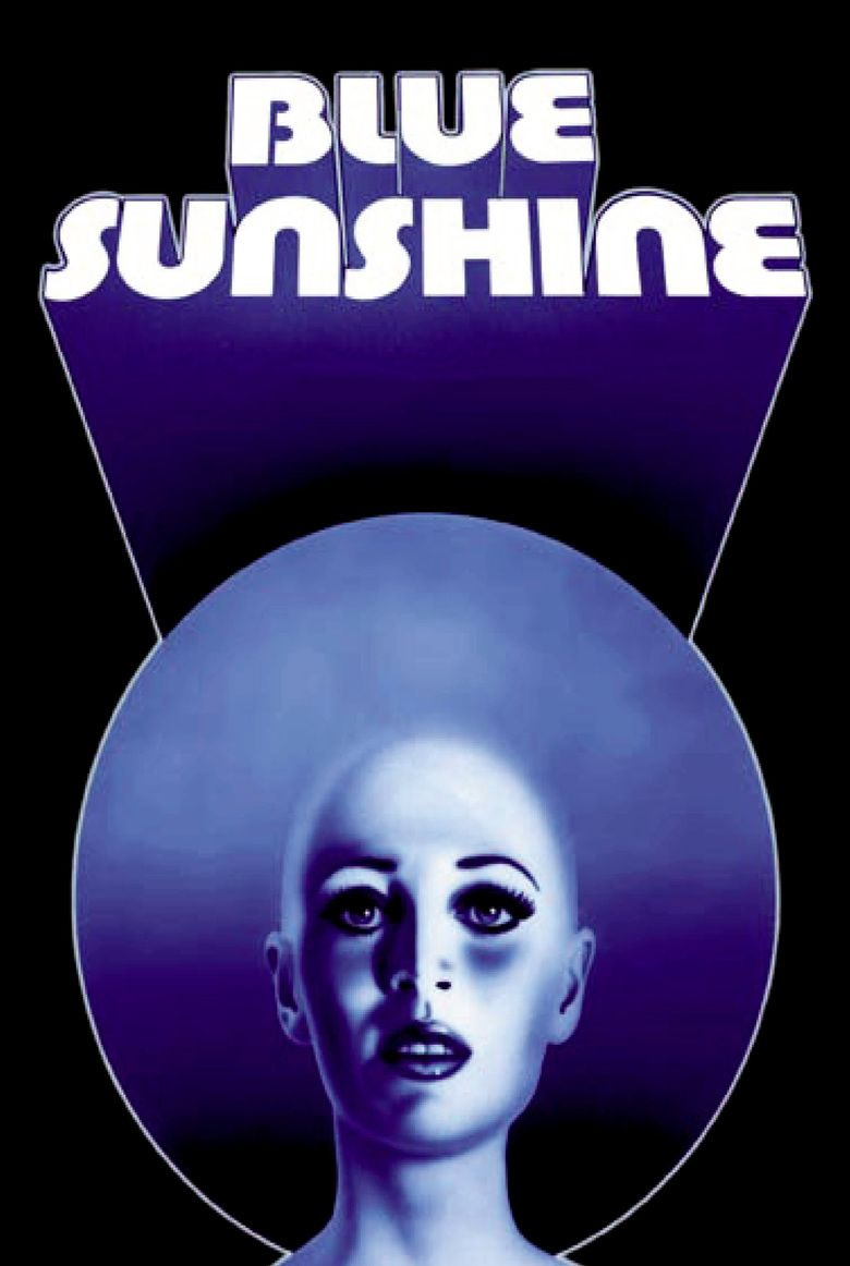 Blue Sunshine (film) movie poster