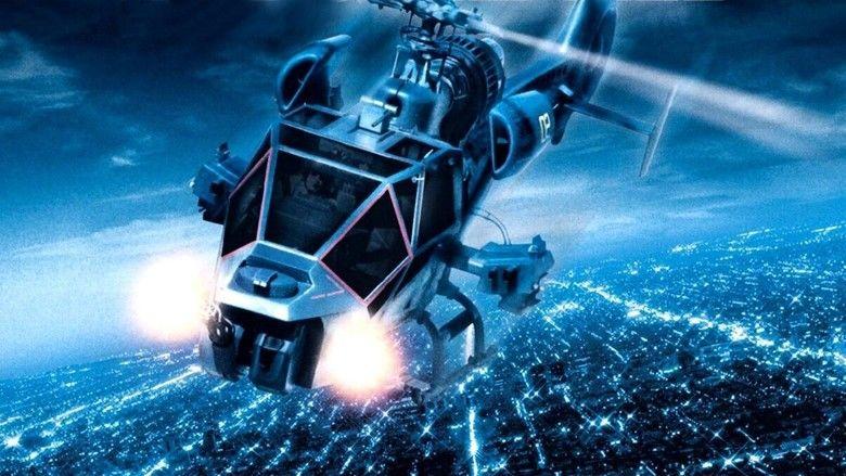 Blue Thunder movie scenes