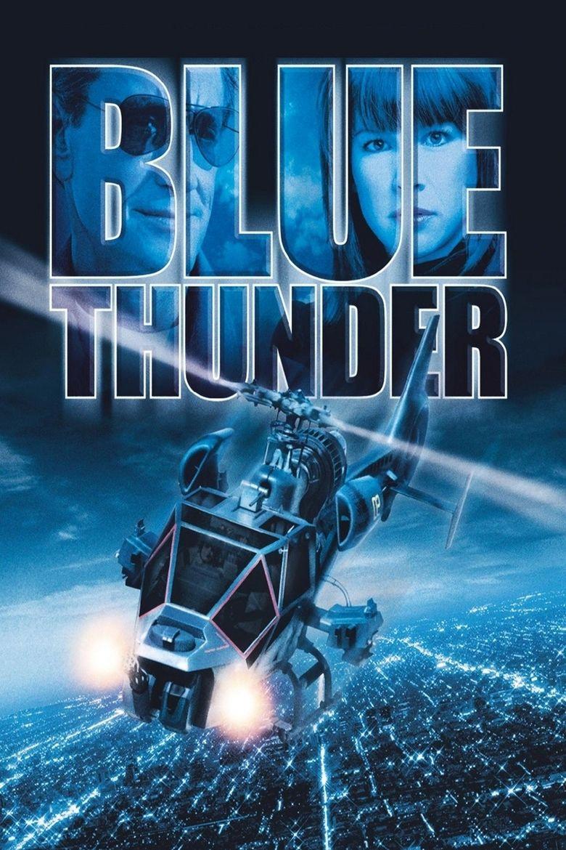 Blue Thunder movie poster