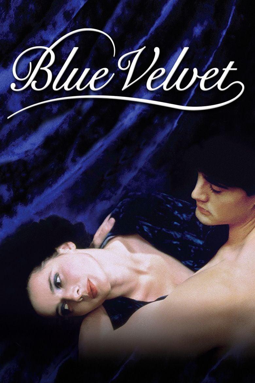 Blue Velvet (film) movie poster