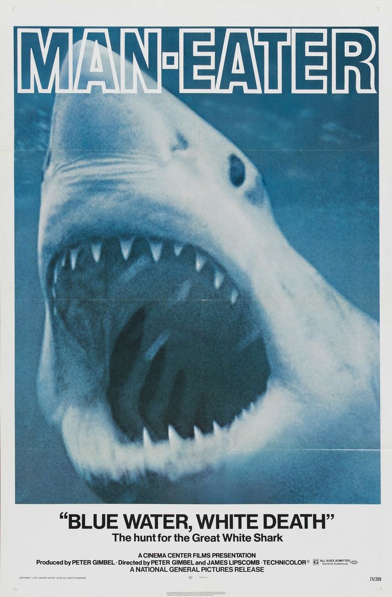 Blue Water White Death movie poster