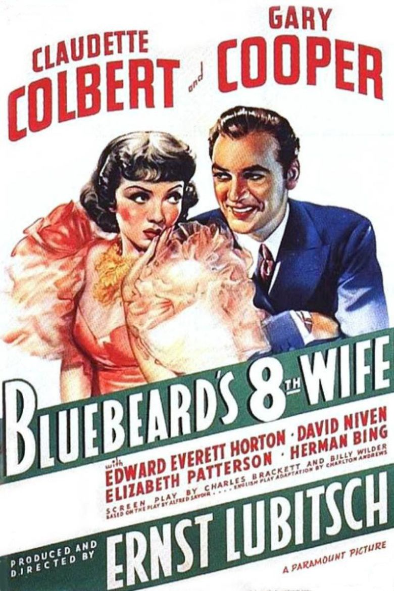Bluebeards Eighth Wife movie poster
