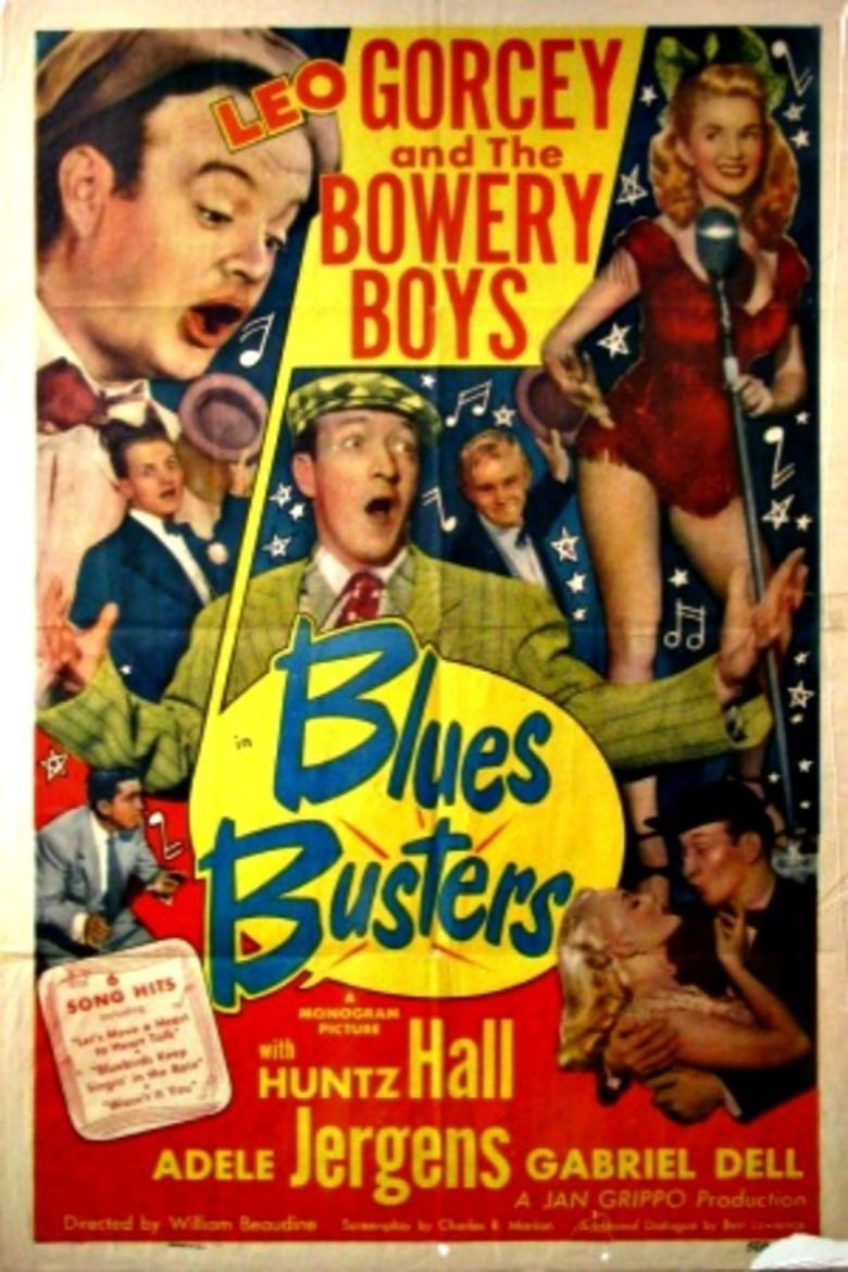 Blues Busters (film) movie poster
