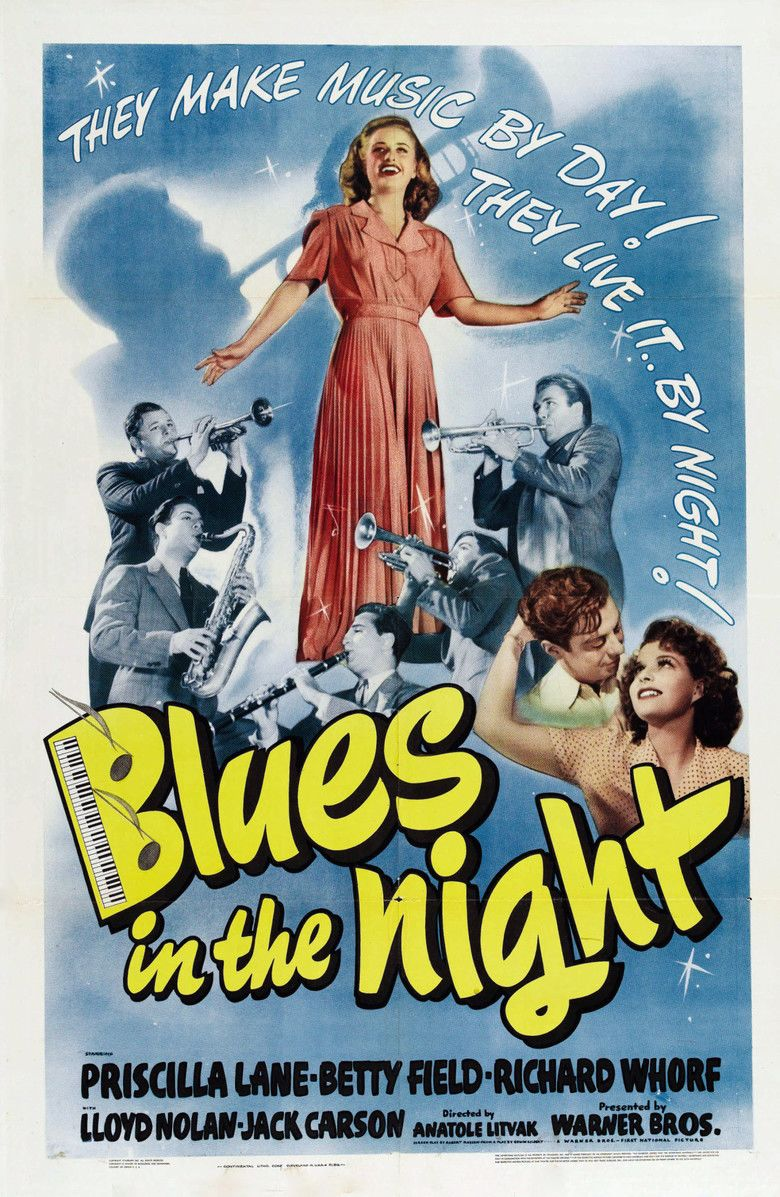 Blues in the Night (film) movie poster