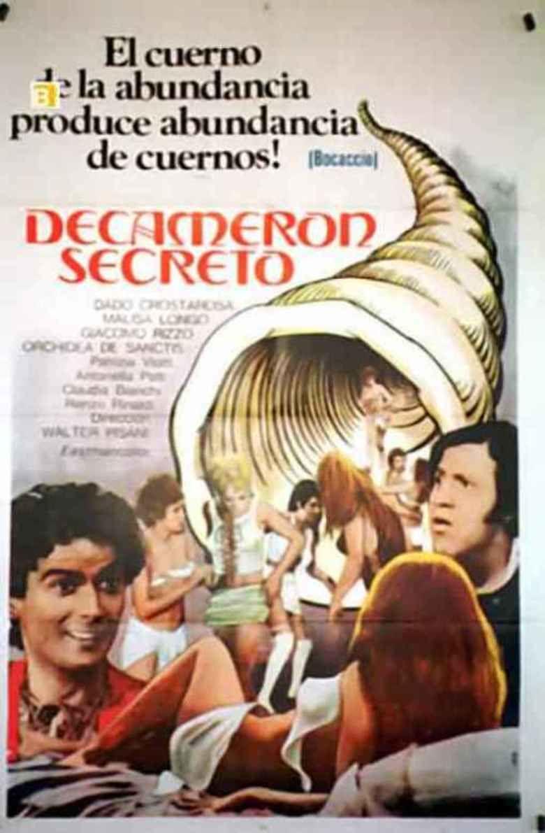 Boccaccio (1972 film) movie poster