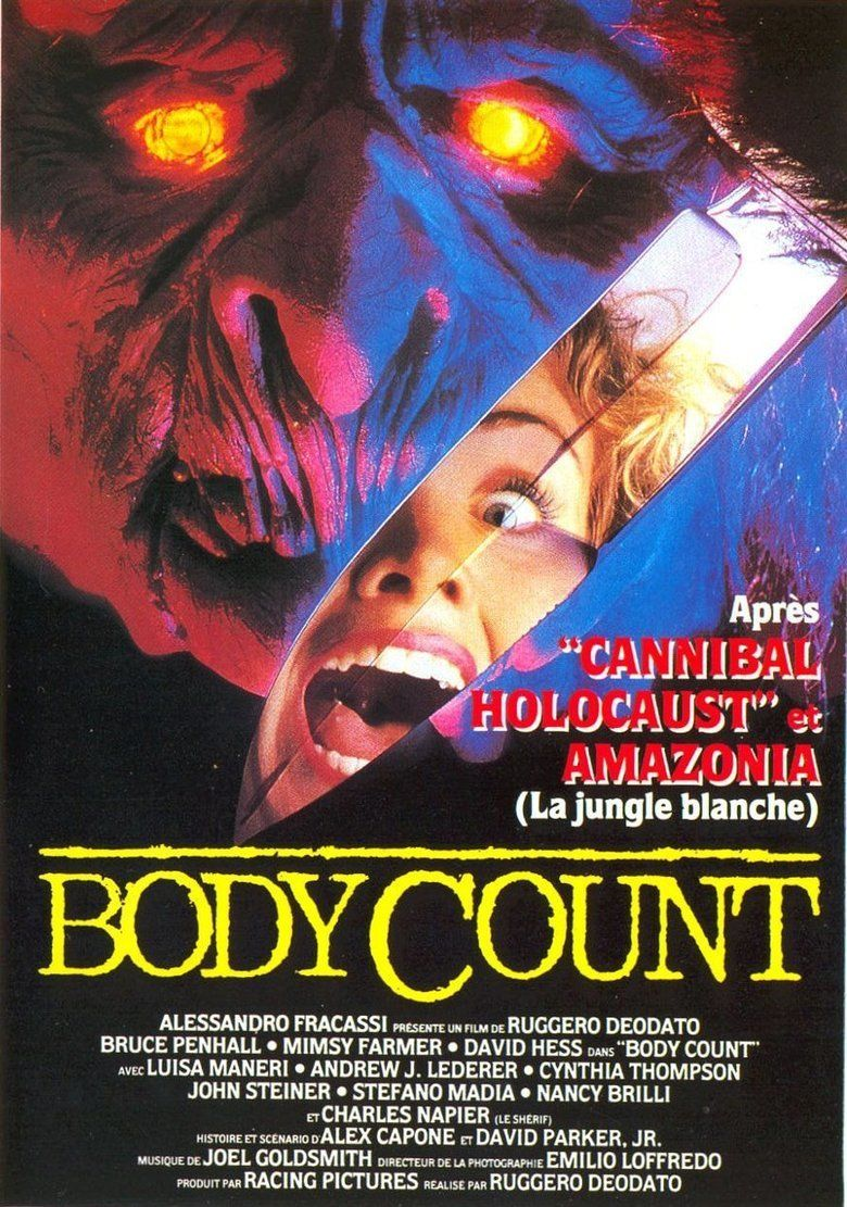 Body Count (1987 film) movie poster