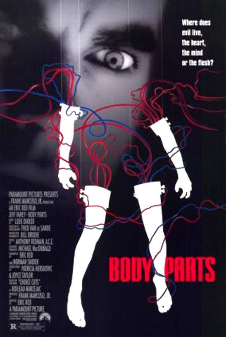 Body Parts (film) movie poster