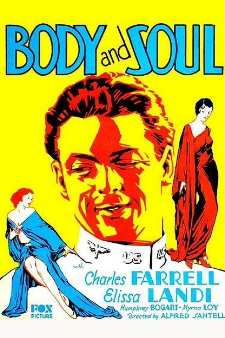 Body and Soul (1931 film) movie poster