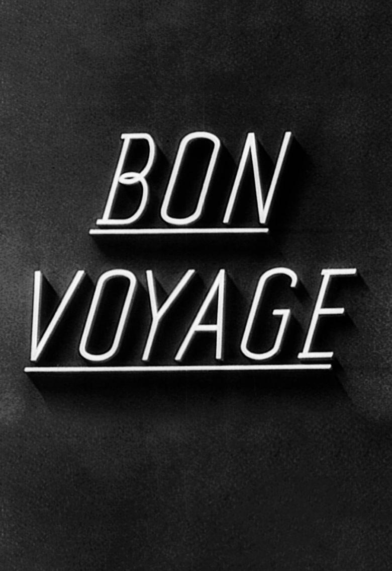 Bon Voyage (1944 film) movie poster