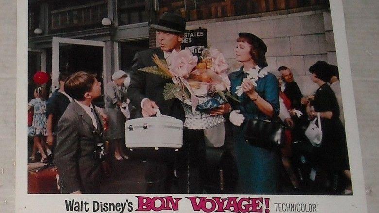 Bon Voyage! (1962 film) movie scenes