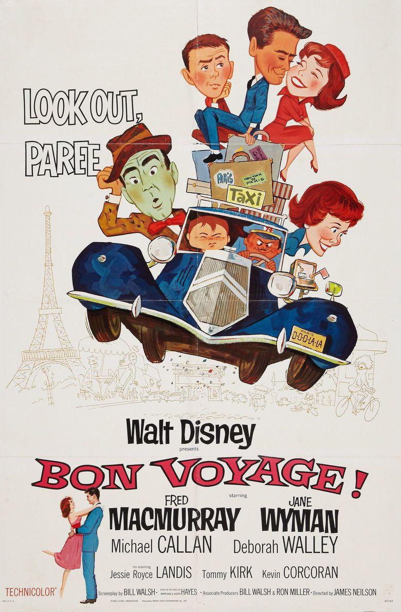 Bon Voyage! (1962 film) movie poster