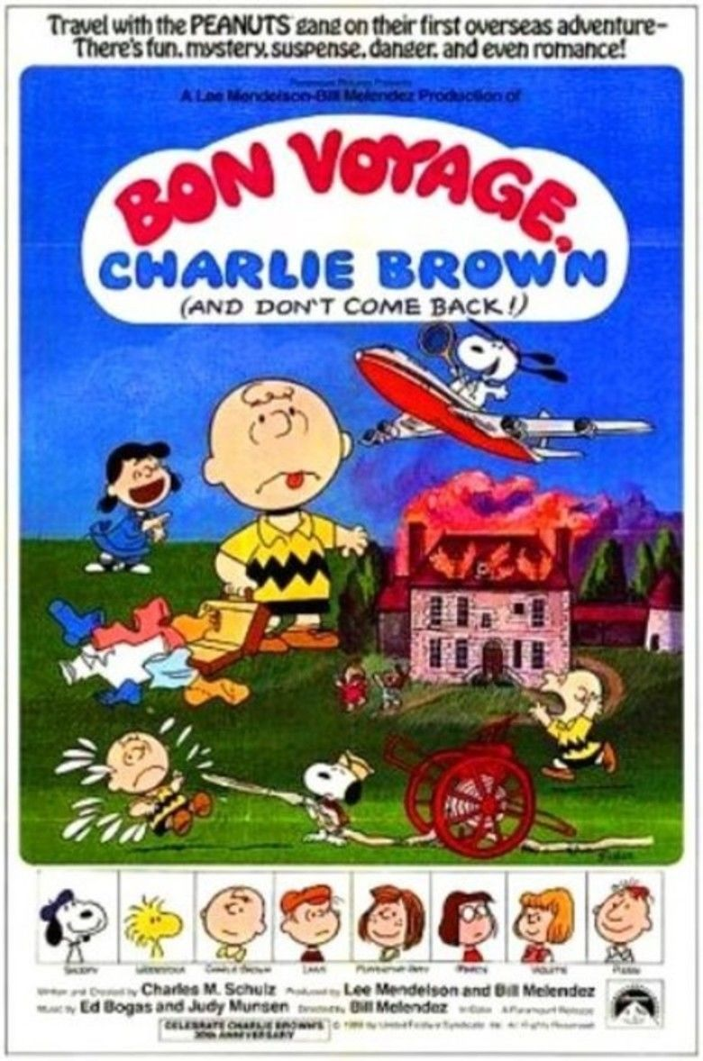 Bon Voyage, Charlie Brown (and Dont Come Back!!) movie poster