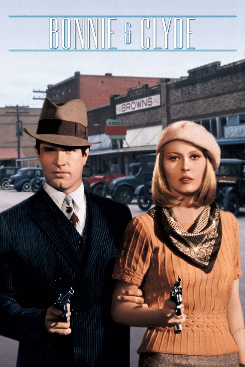 Bonnie and Clyde (film) movie poster