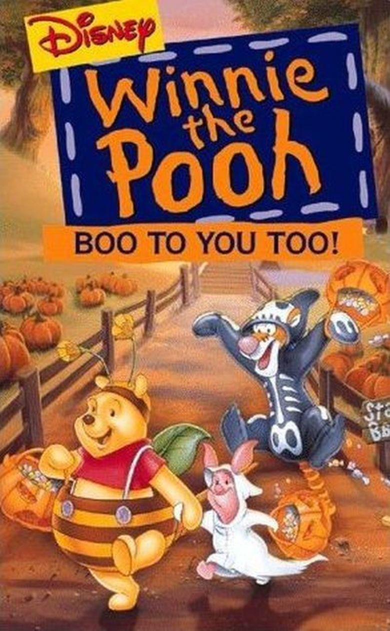 Boo to You Too! Winnie the Pooh movie poster
