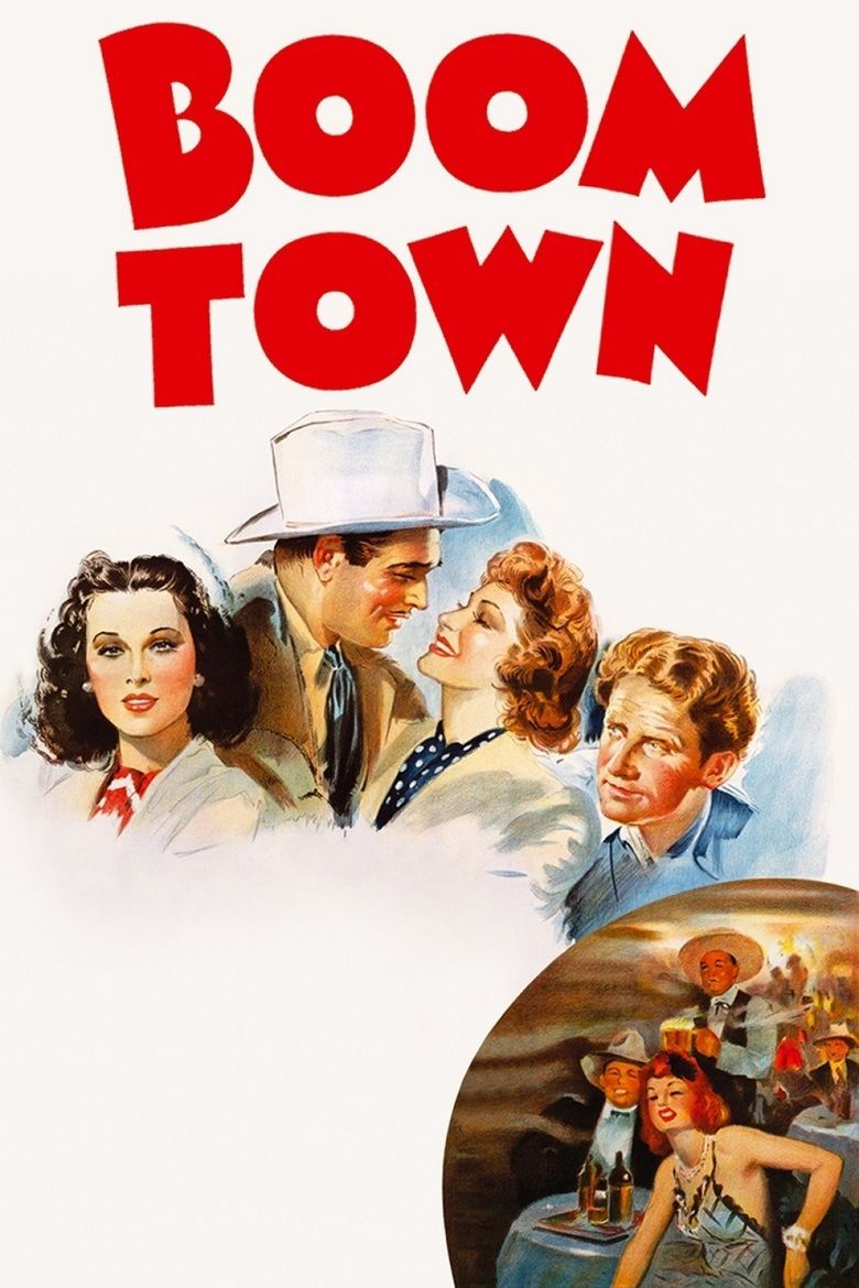 Boom Town (film) movie poster