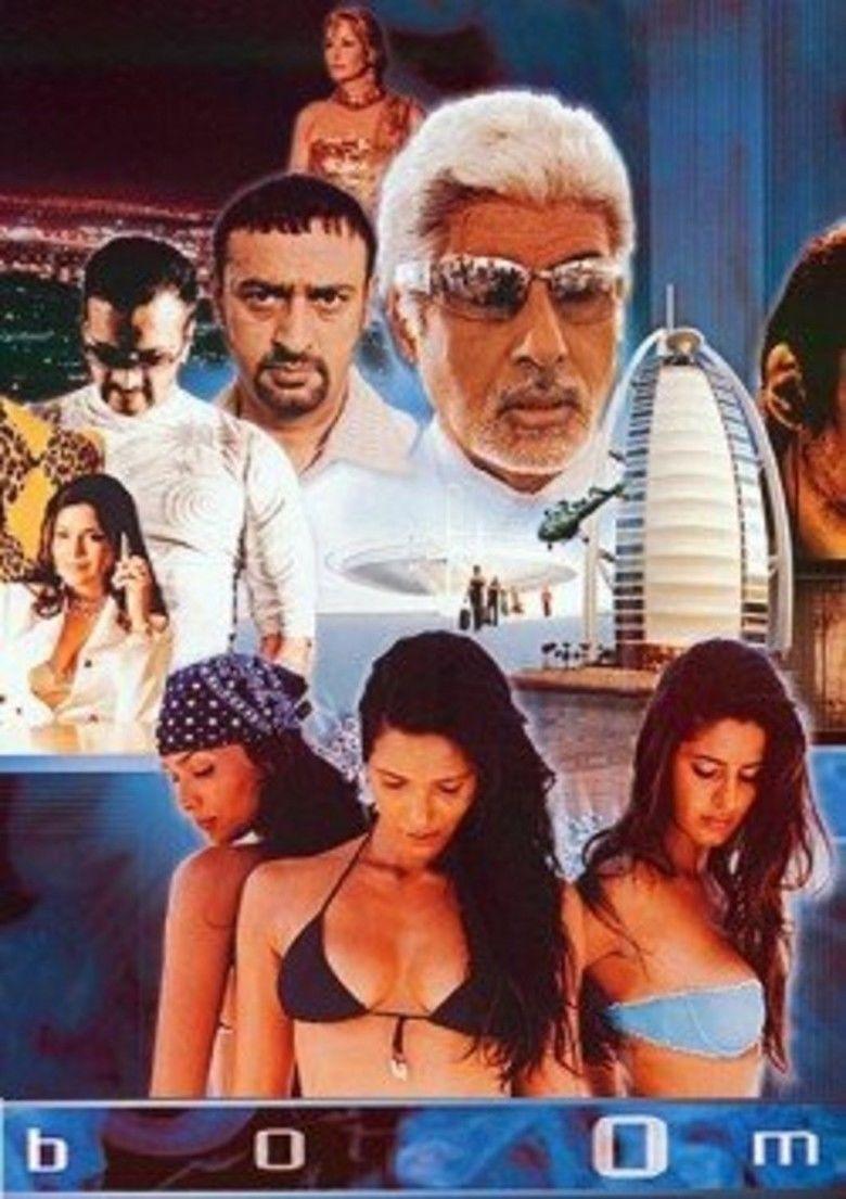 Boom (film) movie poster
