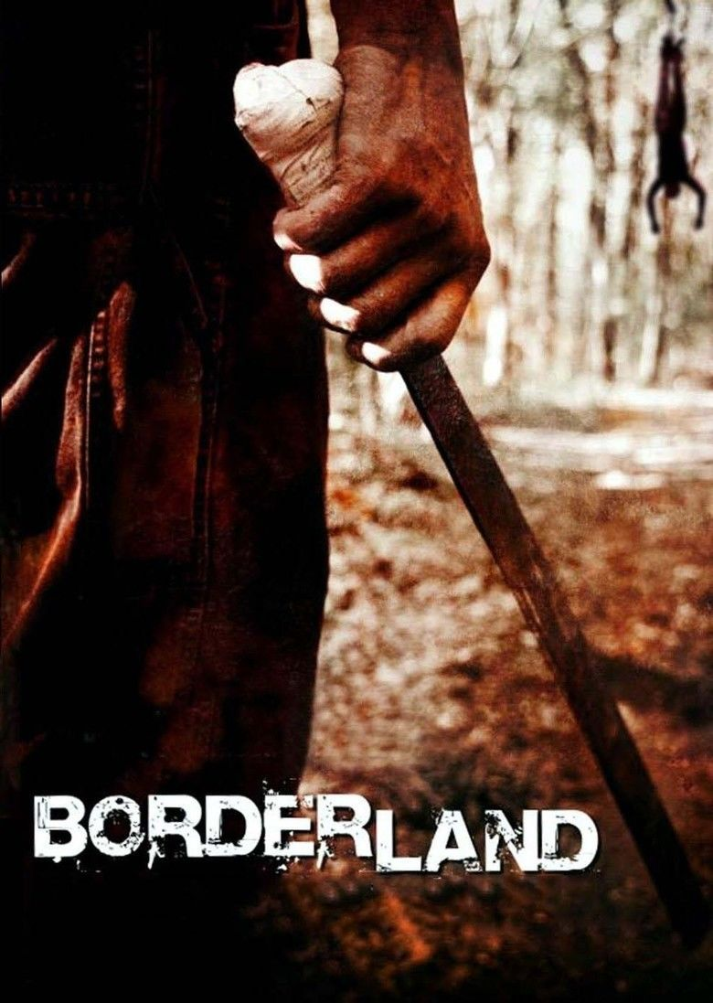 Borderland (film) movie poster