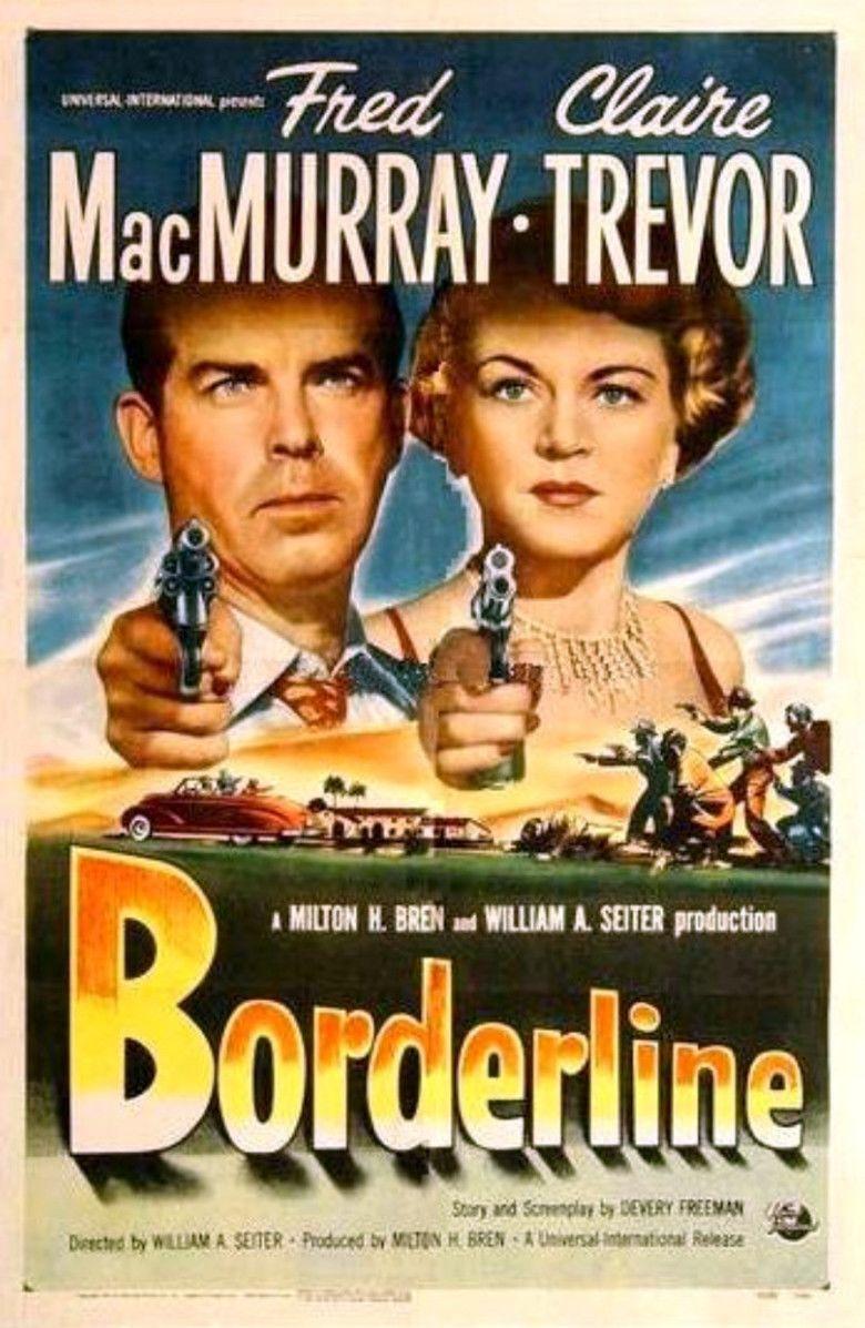 Borderline (1950 film) movie poster