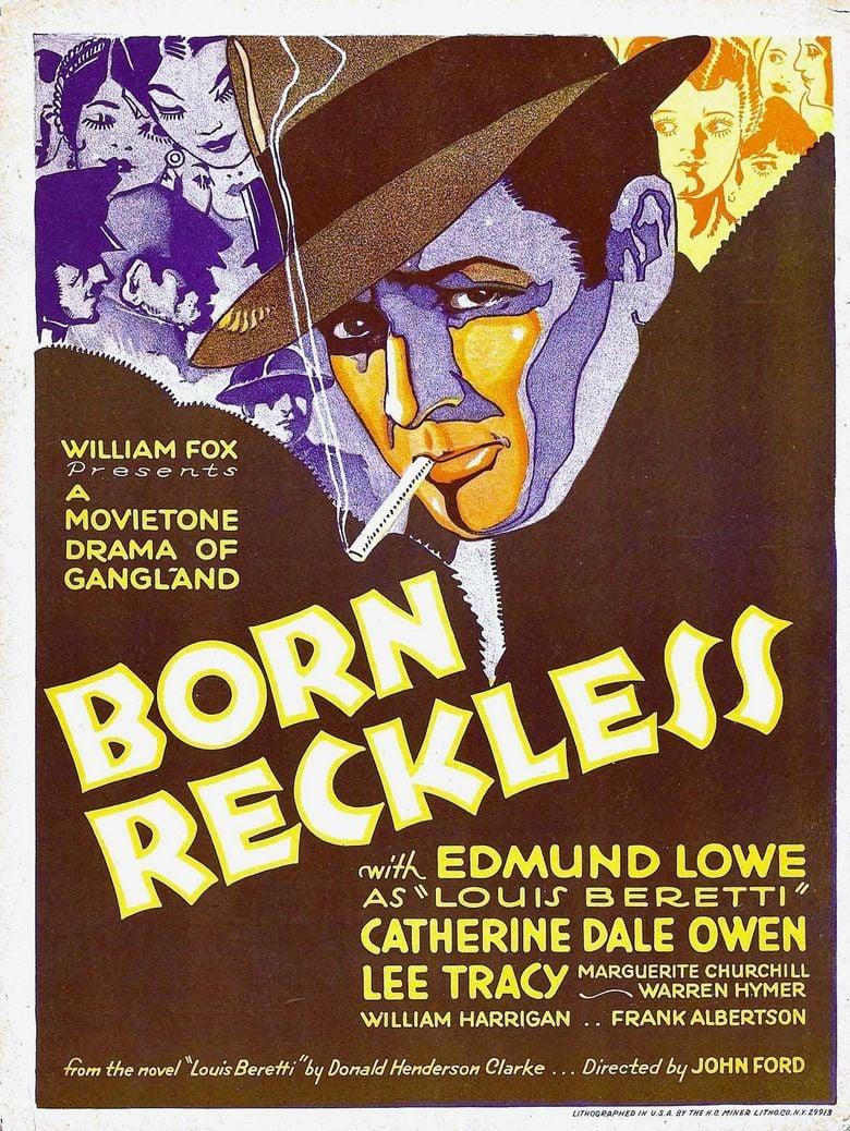 Born Reckless (1930 film) movie poster