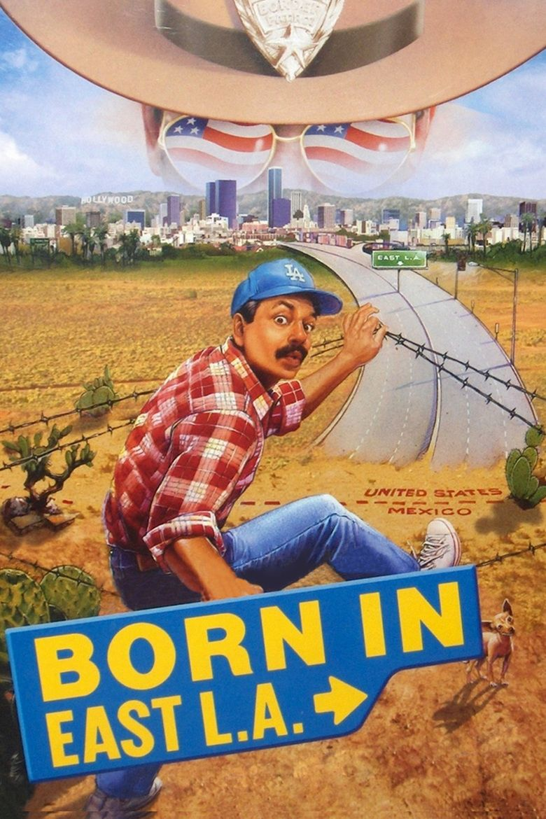 Born in East LA (film) movie poster