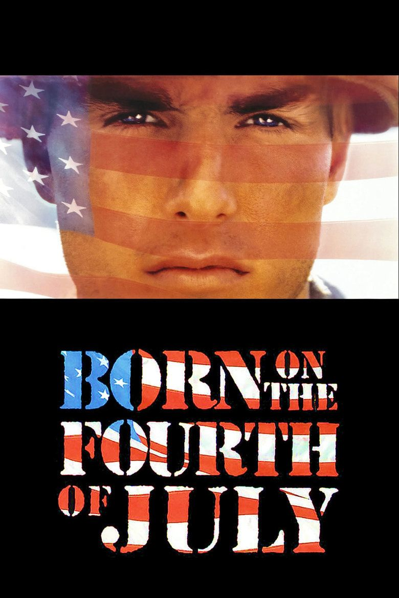 Born on the Fourth of July (film) movie poster