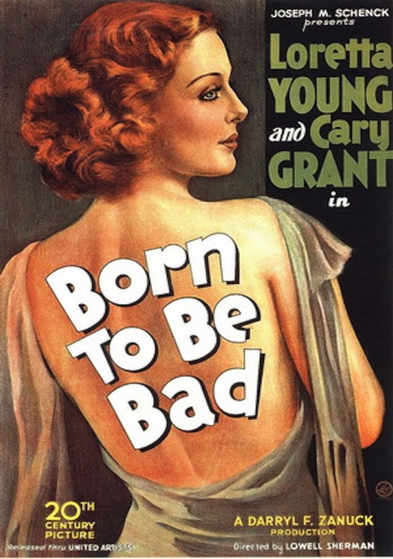 Born to Be Bad (1934 film) movie poster