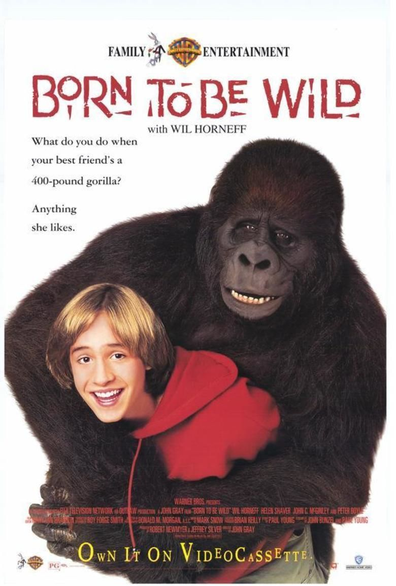Born to Be Wild (1995 film) movie poster