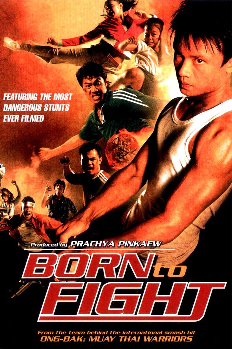 Born to Fight (2004 film) movie poster