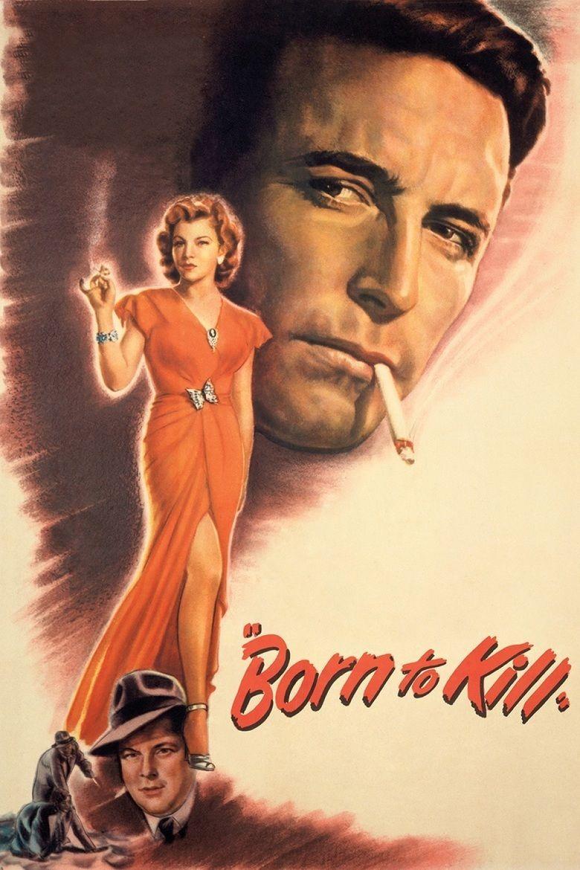 Born to Kill (1947 film) movie poster