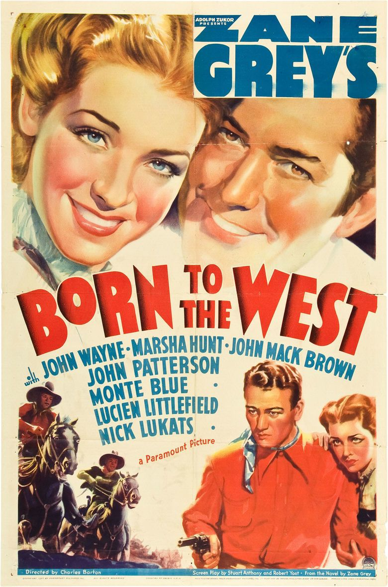 Born to the West movie poster