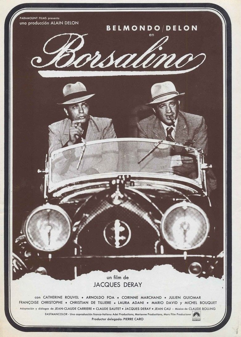 Borsalino (film) movie poster