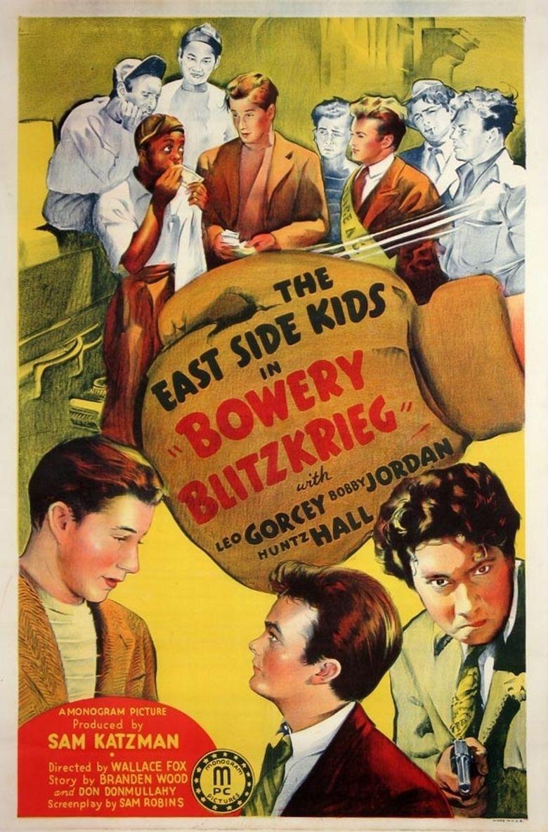 Bowery Blitzkrieg movie poster