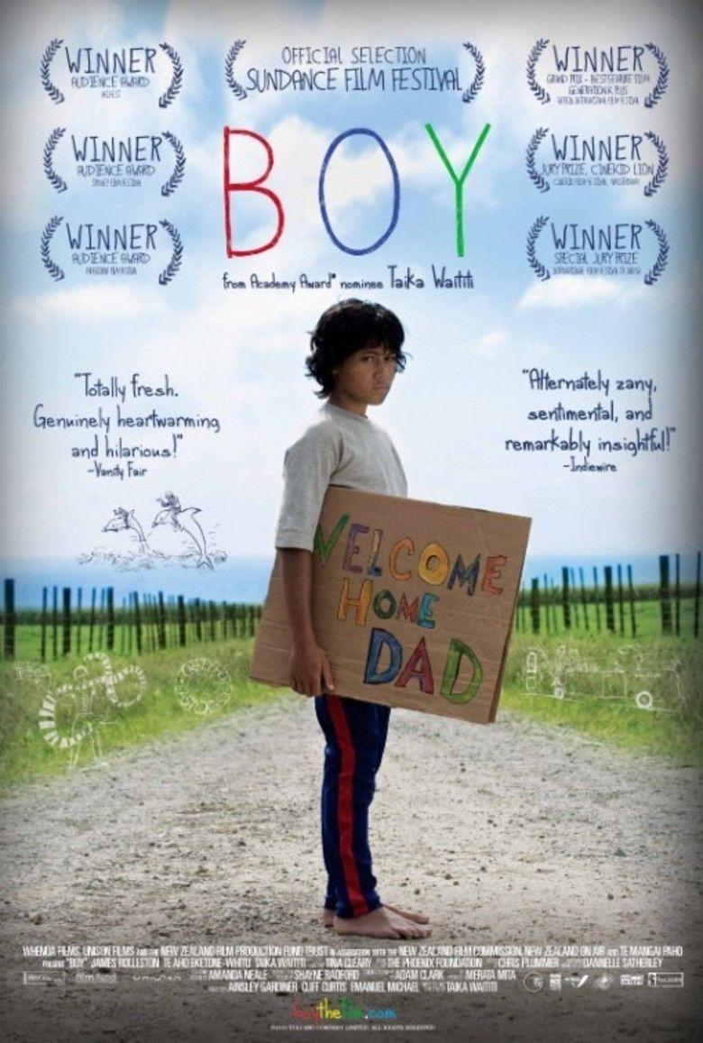 Boy (2010 film) movie poster