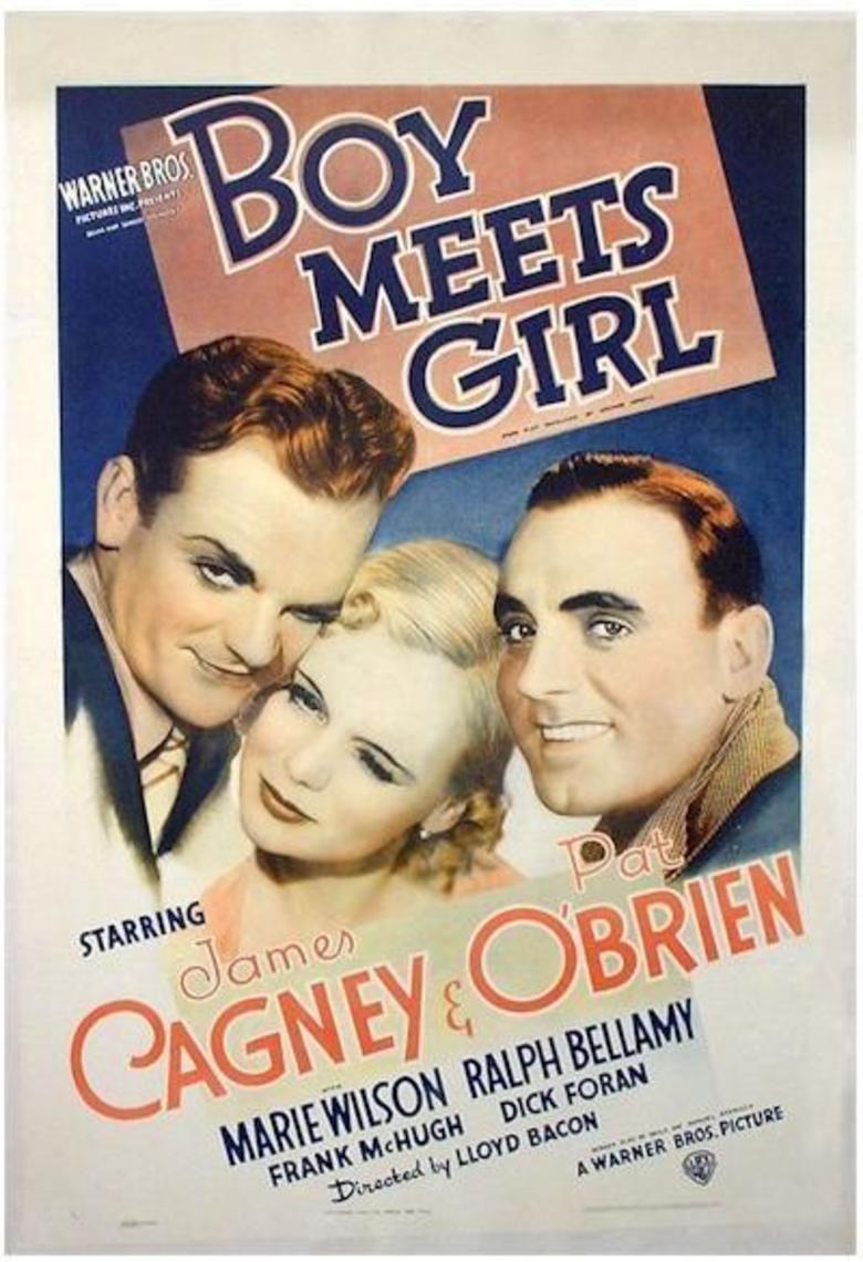Boy Meets Girl (1938 film) movie poster